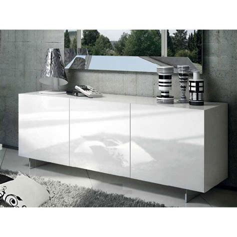 Oxford Sideboard by Oxford 3 Door Sideboard Buffet In High Gloss White Buy
