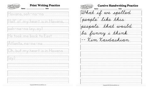generate handwriting worksheets  worksheet blog