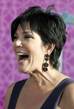kris jenner awesome pixie short hairstyles