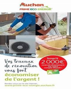 Prime éco énergie Auchan : prime eco energie catalogue auchan ~ Dode.kayakingforconservation.com Idées de Décoration