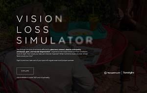 Vision Loss Simulator