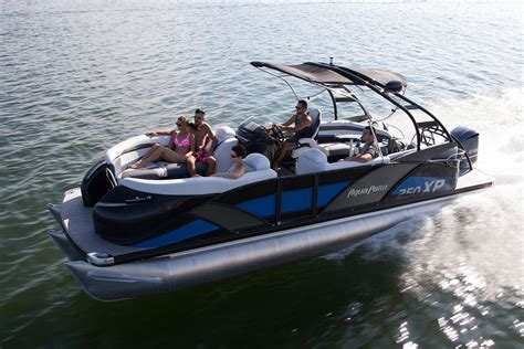 Best Tritoon Boat For The Money by Ap 250 Xp Aqua Patio Godfrey Pontoon Boats