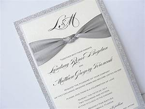 lace wedding invitation With samples of silver wedding invitations