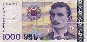 1000 Norwegian Kroner (Edvard Munch) - Exchange yours for cash