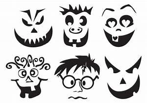 Halloween Kürbis Motive : 40 kostenlose k rbis vorlagen zum ausdrucken schnitzen anleitung deko feiern halloween ~ Markanthonyermac.com Haus und Dekorationen