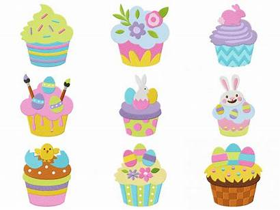 Easter Cupcakes Cupcake Pack Deal Super Embroidery