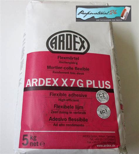 Ardex Fliesenkleber X7g Plus by Ardex X7g Plus Ahesive For Experts And Diy
