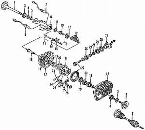 Wiring Schematic Diagram  The 1999 Gmc 1500 Sierra Pickup Front Drive Axle System Components