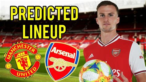 Manchester United vs Arsenal PREDICTED Lineup & Tactics ...