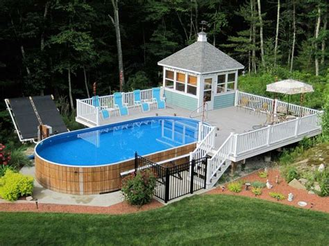 Above Ground Pool Deck Photos by Best Swimming Pool Deck Ideas