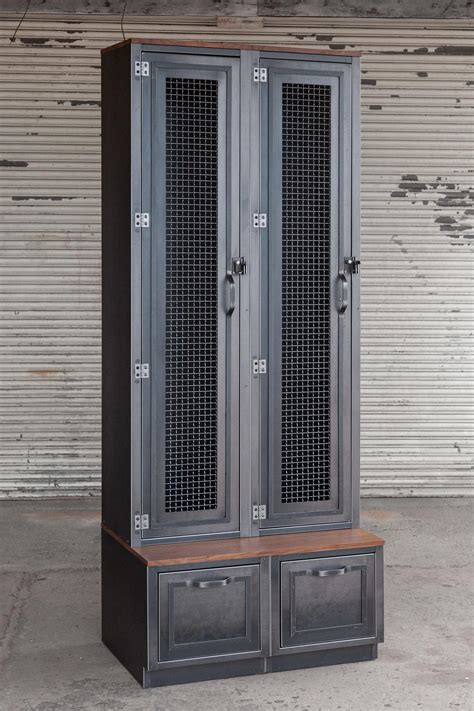 modular country club locker vintage industrial furniture