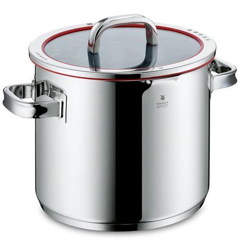 wmf function  stainless steel pastastock pot  quart