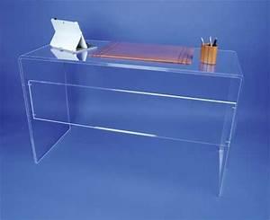 Table En Plexiglas : mobilier form xl meubles plexi bureaux et tables plexi bureau pont plexi 322 8 ttc ~ Teatrodelosmanantiales.com Idées de Décoration