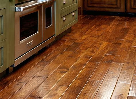 wooden flooring offers rustic hardwood flooring this hardwood floor is a rustic maple with a warm stain and offers