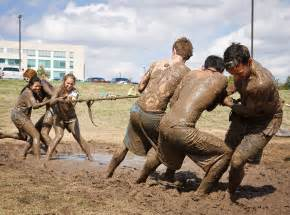 Tug of War Mud Pit