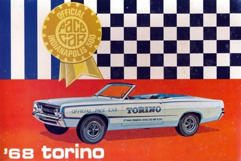 ford torino convertible office indianapolis  pace