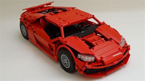lego technic supercar rc lego technic rhm wutzwerg supercar