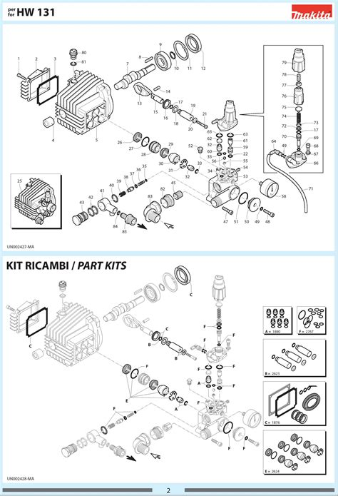 nilfisk pressure washer parts diagram nilfisk alto e140 2 unloader nilfisk alto part no
