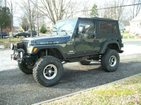 2006 jeep wrangler 4 door find used 2006 jeep wrangler unlimited rubicon sport