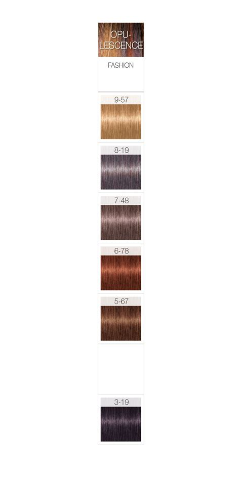 schwarzkopf hair color chart schwarzkopf professional igora royal opulescence permanent