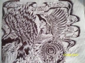Aztec Art Drawings