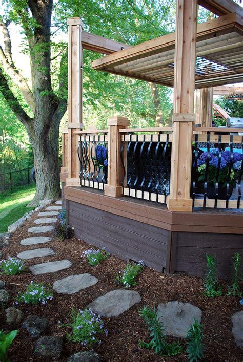 Metal Deck Skirting Ideas by Best 25 Deck Skirting Ideas On