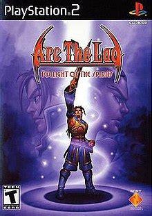 arc  lad twilight   spirits wikipedia