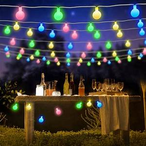 Bluefire, String, Lights, Battery, Powered, 7m, 50, Led, Globe, Fairy, Lights, With, Remote, Control, Timer, 8