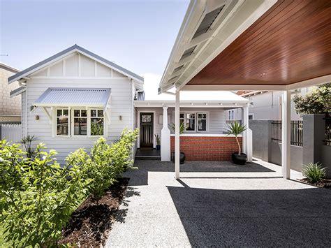 renovation takes perth cottage  fibro  fabulous