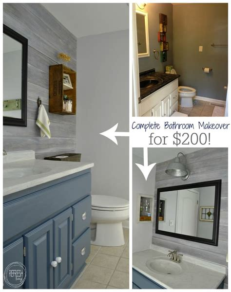 Bathroom Makeover Cost by 25 Best Ideas About Cheap Bathroom Remodel On