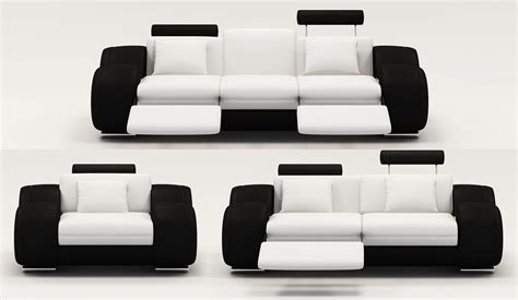 canapé relax design deco in ensemble canape relax design 3 2 places