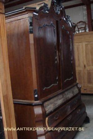 kast oude look geven restauratie meubelen melsele antiek den ouden overzet