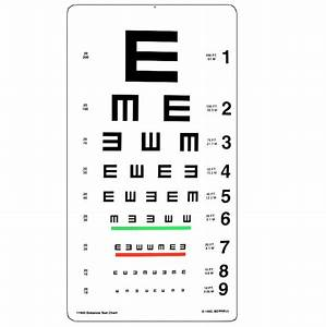 Tumbling E 20 Ft Distance Chart Ophthalmic Singapore