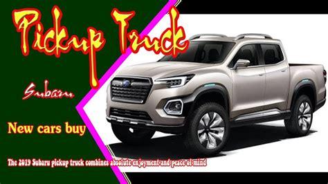 2019 Subaru Pickup Truck  2019 Subaru Viziv Pickup New