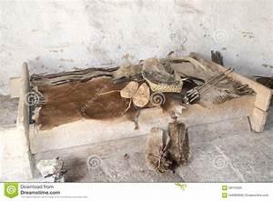 Stonehenge - Room In Neolithic House Stock Photo - Image ...