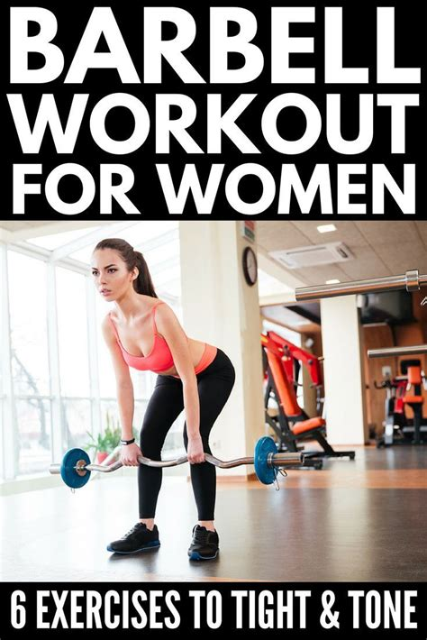 workout barbell exercises programs program routines tone tighten body gym weights workouts routine upper lower training glutes beginners simple arms