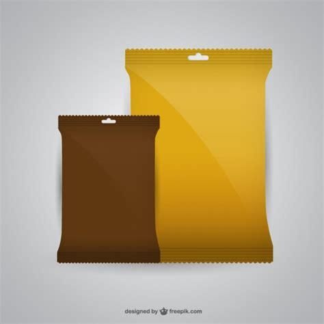 Mau mencari desain mockup gratis untuk packaging makanan? Mockup design of packaging Vector   Free Download