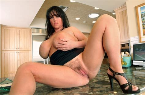 Indianna Jaymes Fucking In The Kitchen With Her Hairy Pussy