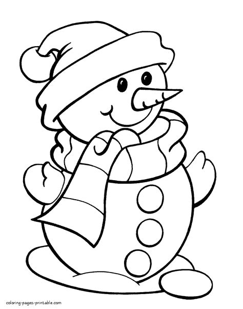 snowman coloring page snowman colouring page pencil and in color