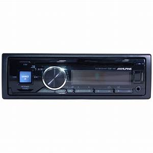 Alpine Cde-141  Mp3 Receiver With