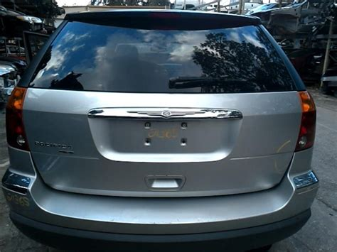 2006 Chrysler Pacifica Parts by 2006 Chrysler Pacifica Rear Decklid Tailgate