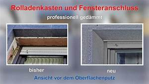 Fensterrahmen Abdichten Innen : fenstersturz rolladenkasten probleme im wdvs youtube ~ Lizthompson.info Haus und Dekorationen