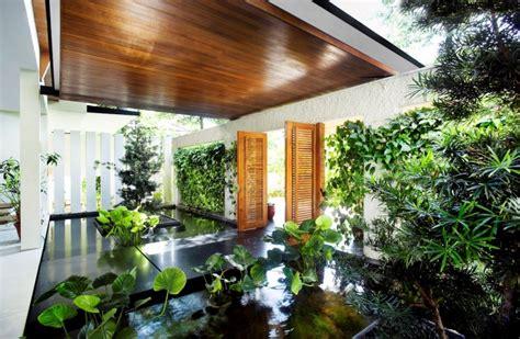 home interior garden 10 homes with indoors ponds garden homelove homelove