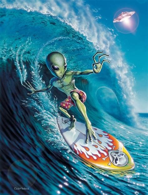 Alien Surfing