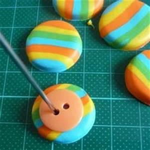 Percer Un Bouton : boutons en p te polym re fimo ~ Dallasstarsshop.com Idées de Décoration