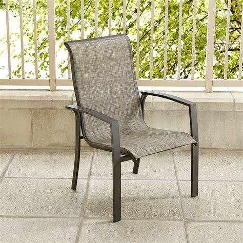 essential garden hoffman single stationary chair outdoor