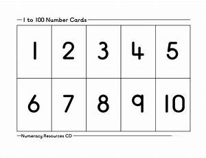 Sample number 9 documents in pdf word for Template for numbers 1 100