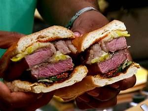 grilled rib eye steak sandwich recipe aaron mccargo jr