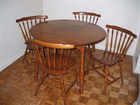 9 pc roxton maple hardwood furniture gloucester ottawa
