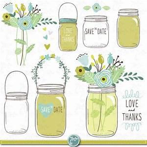 hand draw mason jars clipart quotwedding mason jarsquot clip With mason jar clip art for wedding invitations